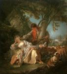 """Франсуа Буше """" Прерванный Сон"""", 1750"""