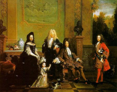 Louis XIV, and Family,Largilliere