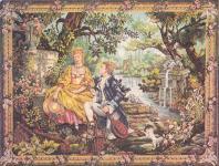 le Jardin d'Amour, Tapisserie de Waymal